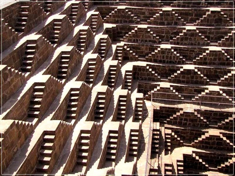Stepwells, India lépéskútja