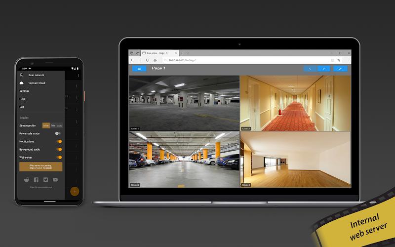 tinyCam PRO - Swiss knife to monitor IP cam Screenshot 12
