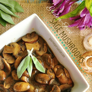 Gluten-Free Sage Mushrooms