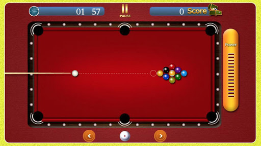 Pool Table Free Game 2016 screenshot