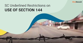 SC underlines restrictions on use of Section 144