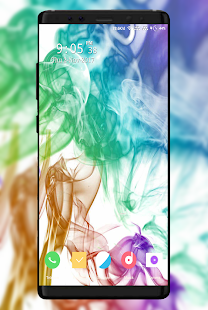 Colorful Smoke Wallpaper - náhled