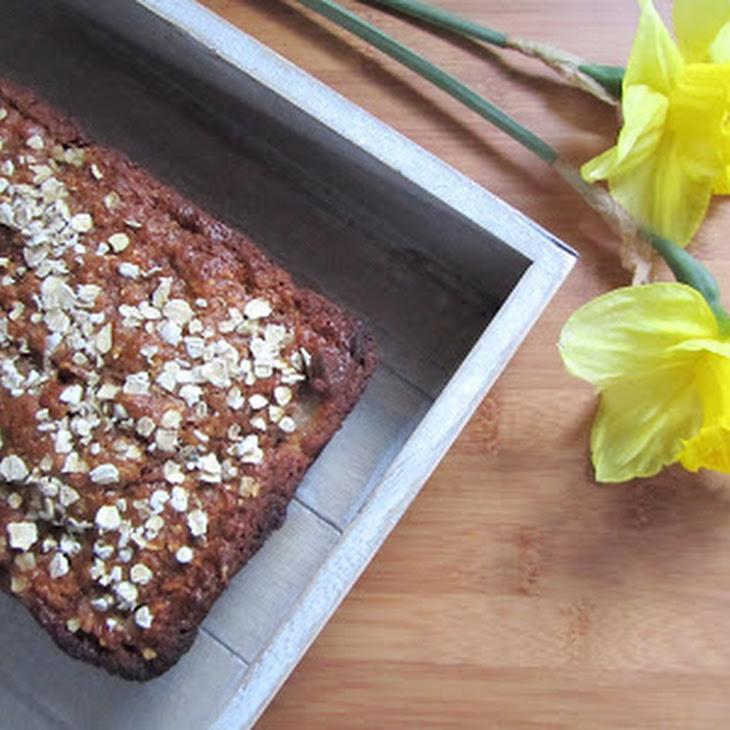 Banana-Oat Whole Wheat Bread Recipe
