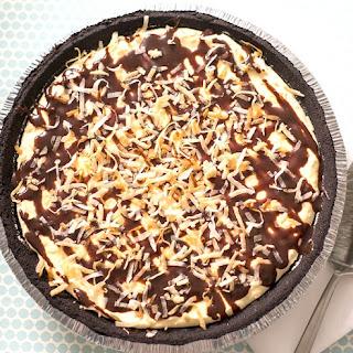 15-Minute Coconut Cream Candy Bar Pie.