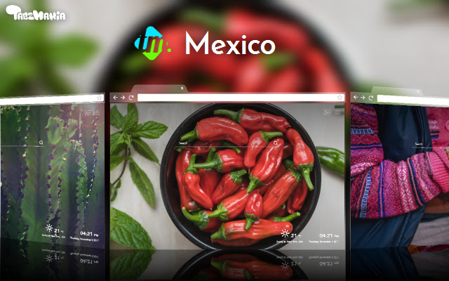 Mexico Backgrounds & New Tab