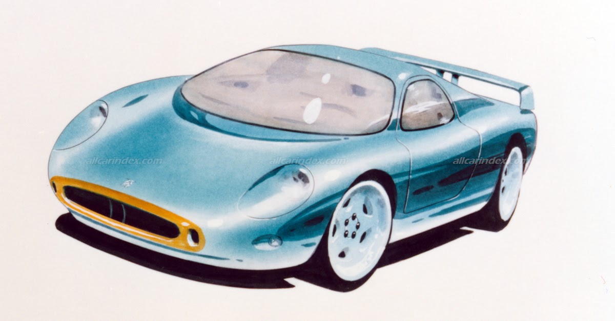 1991 BRM P401 - obscure stillborn road car project