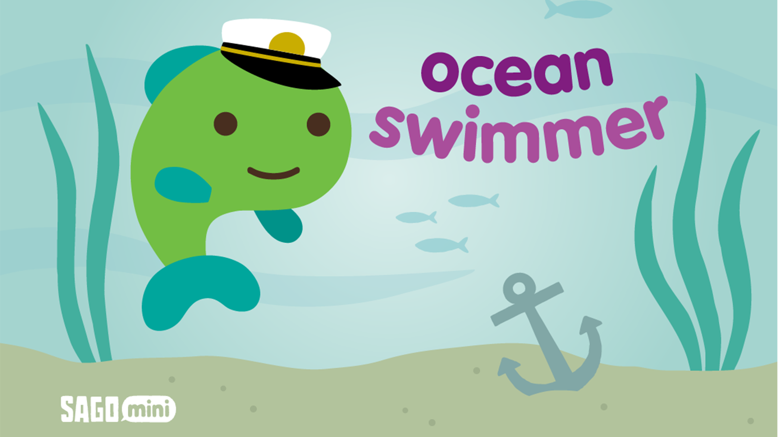 Sago Mini Ocean Swimmer- screenshot