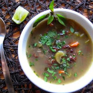 Nourishing Adzuki Bean Soup.