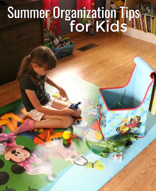 5 summer organization tips for kids