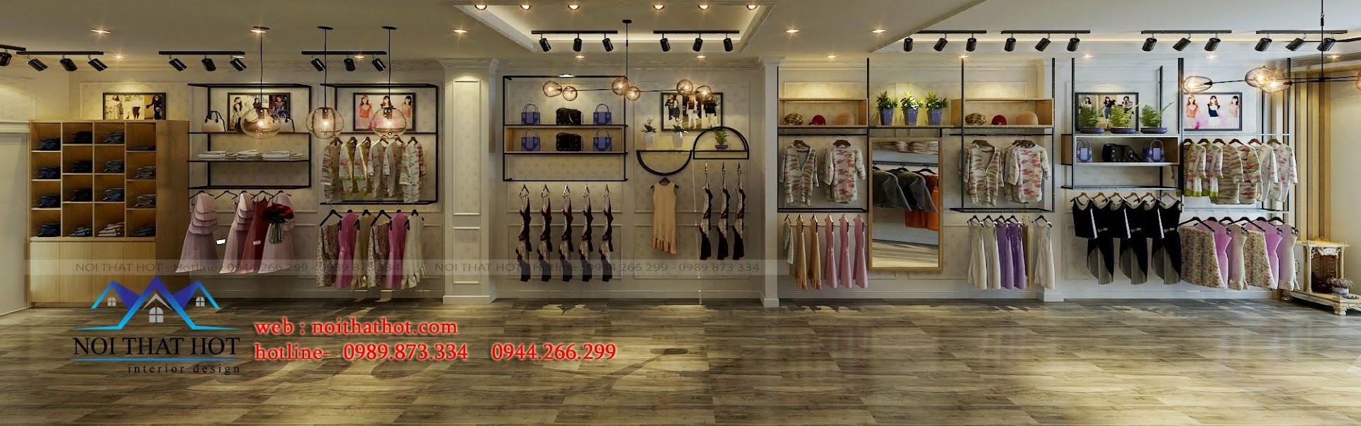 thiết kế shop thời trang nữ Bi's Boutique 9