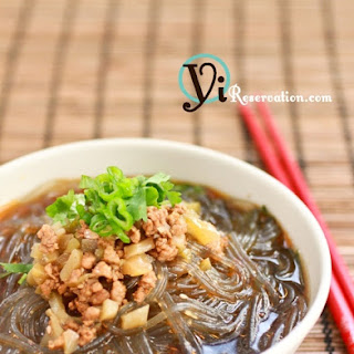 ChongQing Hot and Sour Cellophane Noodles (重慶酸辣粉)