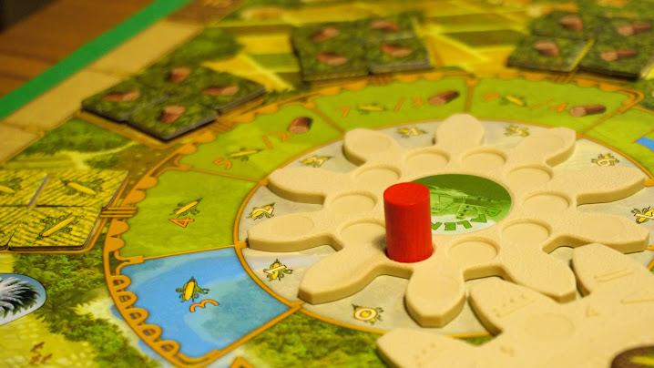 ツォルキン:マヤ神聖歴:ワーカー駒を配置する