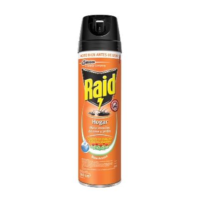insecticida raid hogar 360ml