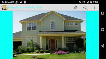 home exterior painting ideas android app on appbrain. Black Bedroom Furniture Sets. Home Design Ideas