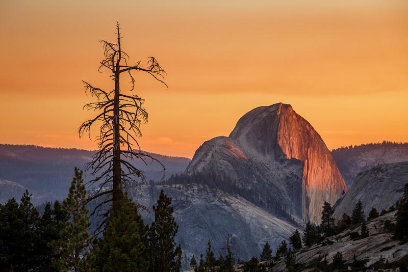 Photo: Half Dome, Yosemite National Park.