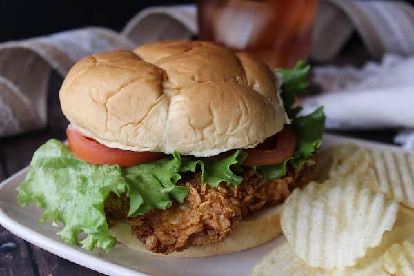 Breaded Pork Tenderloin Sandwiches Recipe