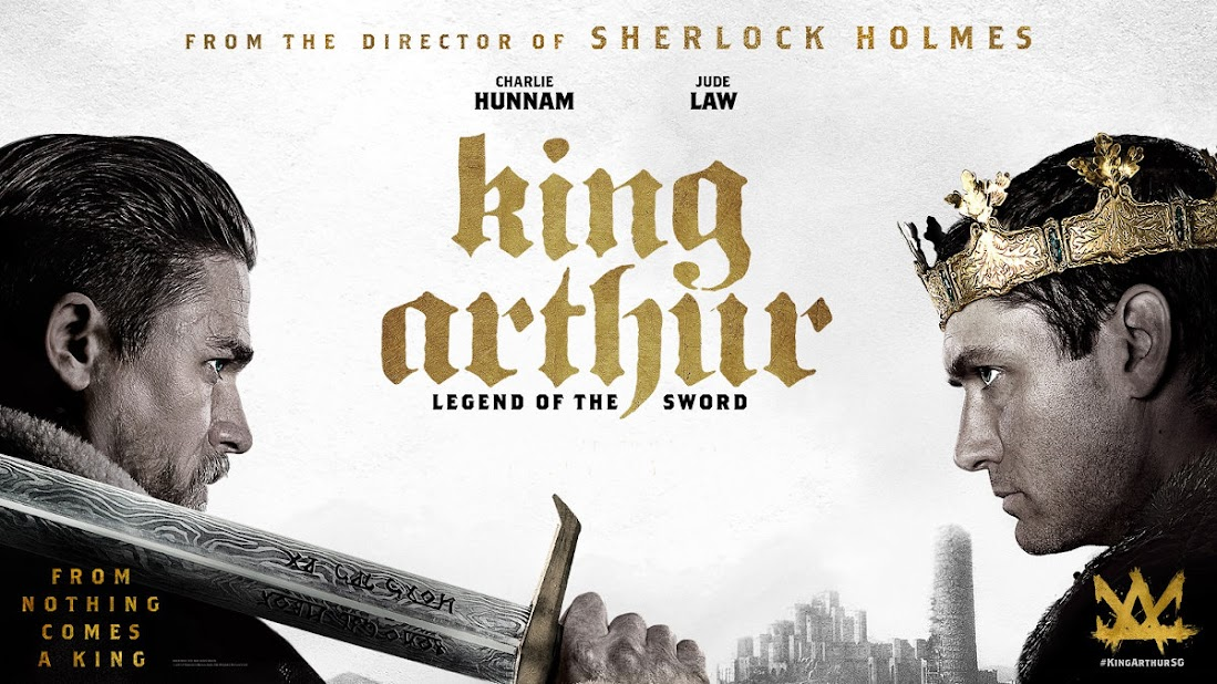 King Arthur: Legend of th Sword movie poster