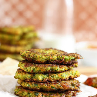 Fluffy Carrot Broccoli Fritters Recipe