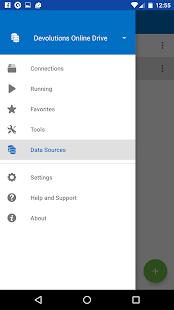 Remote Desktop Manager - náhled