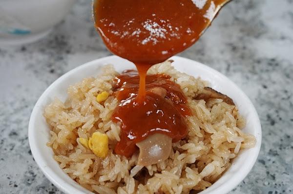 艋舺阿萬油飯、刈包|萬華車站旁的台式早餐、台北好吃油飯推薦|阿萬油飯菜單