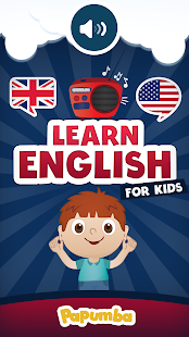 English for Kids- screenshot thumbnail