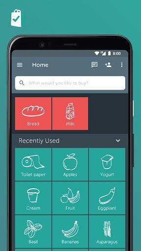Bring! Grocery Shopping List 3.51.0 screenshots 1