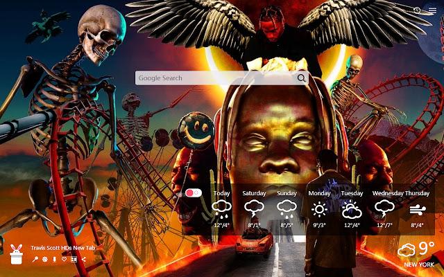 Travis Scott HDs New Tab, Wallpapers HD