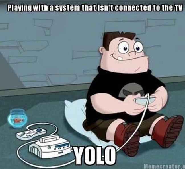 Chơi game không cần cắm phích vào ti vi.