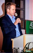 Photo: DGPuK 2014 Gala-Abend in der Innsteg-Aula  Willkommensgruß und Buffeteröffnung durch Gastgeber Ralf Hohlfeld   Foto: Janertainment Janine Amberger