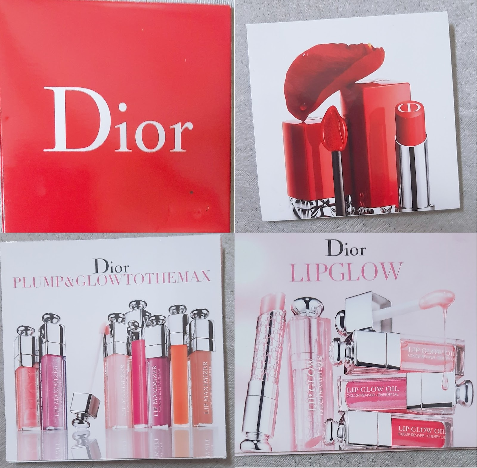 Dior 唇色實測: Lip glow, Lip glow oil, Lip maximizer, Ultra care, Ultra care liq ...