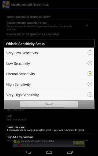 Whistle Phone Locator screenshot 16
