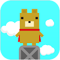 "One-touch game ""Flying HERO"" icon"