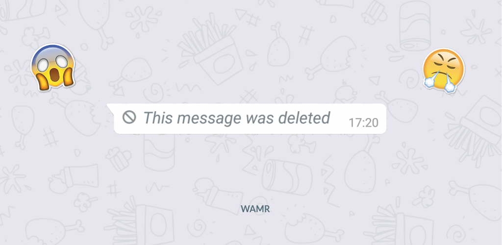 WAMR - Recover deleted messages & status download - App by