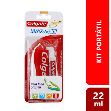 Kit Dental COLGATE Total 12