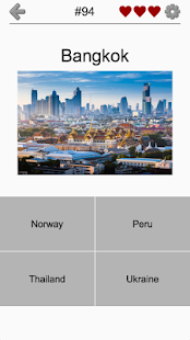 Capitals Of All Countries In The World City Quiz Android Apps - Capital of all countries
