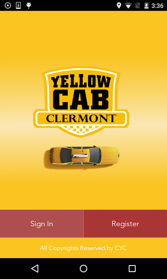 CYC Taxi- screenshot