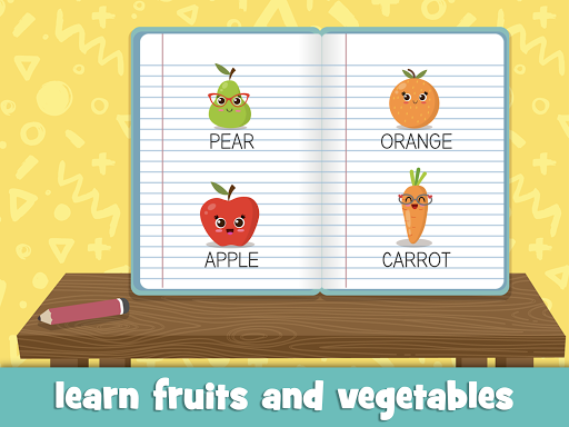 Learn fruits and vegetables - games for kids  screenshots 9