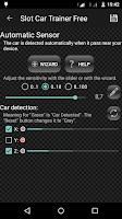 Screenshot of Slot Car Trainer Free