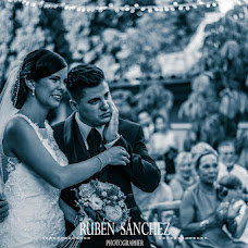 Wedding photographer Ruben Sanchez (rubensanchezfoto). Photo of 29.08.2017
