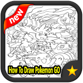 Tải Game How To Draw Pokemon GO