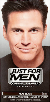 Just For Men Original Formula Hair Colour - Real Black, 60ml