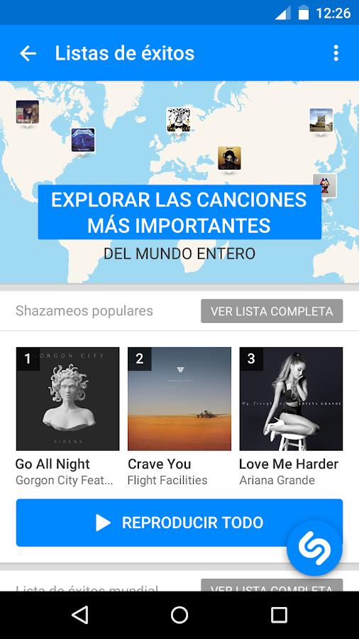 Shazam - screenshot
