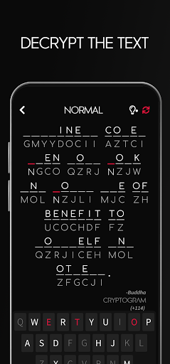 Cryptogram - Decrypt Quotes 0.7.3 screenshots 2