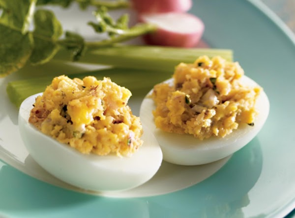 Crab-stuffed Deviled Eggs Recipe