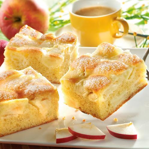 Abbildung Apfelkuchen-Schnitte