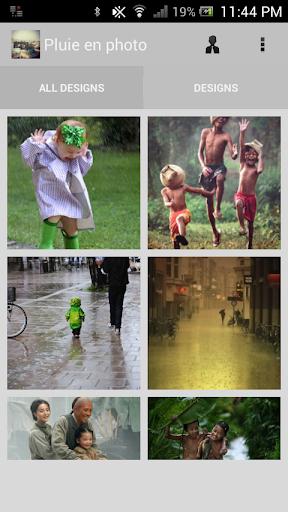 Pluie En Photo