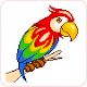 coloring pages -Pixel art  :  kids - adults (game)