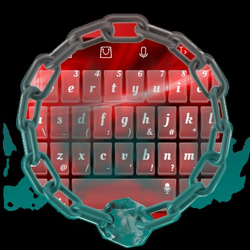 红色漩涡 TouchPal 個人化 LOGO-玩APPs