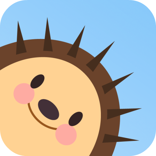 Hedgy Pop Free game. Hedgehog pop colored bubbles!