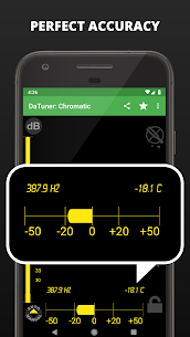 Guitar Tuner, Bass, Violin, Banjo & more | DaTuner 3